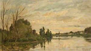 A River at Dusk