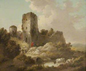 Landscape with Ruined Castle