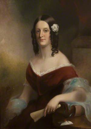 Georgiana Hulton, Wife of William Ford