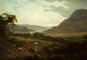 A Scene in the Lake District