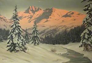 The Dolomites Sunset