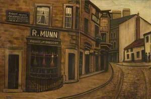 Munn's Corner, 1890