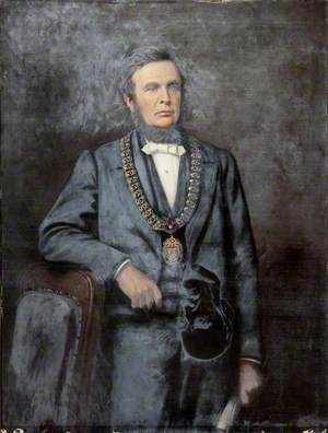 William Thompson in Mayoral Chain