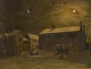 Market Cross and Old Sparrow Hawk, Burnley