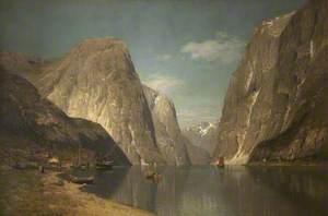 Near Gudvangen on the Sogne Fjord