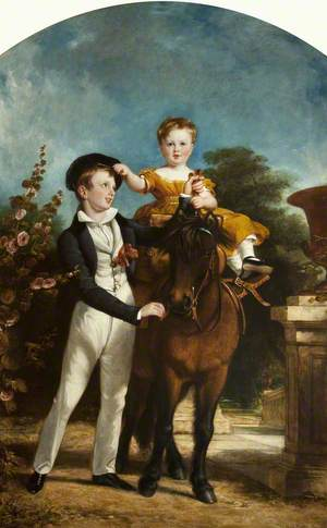 George Glynn and Oswald Petre, Sons of Henry William Petre of Dunkenhalgh
