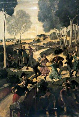 Picnic in the Country with Musicians and Dancers
