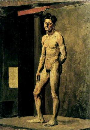 Study of a Standing Man