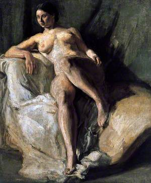 Female Figure Seated
