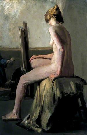 Female Figure Seated on a Stool