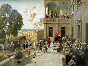 Trial Scene from 'The Merchant of Venice'