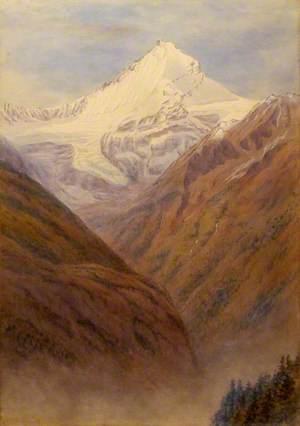 Alpine Scene, Weisshorn