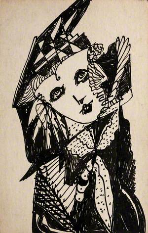 A Portrait of a Young Woman with a Hat*