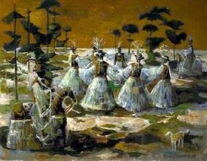 Folk Dancers, Spain