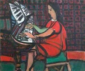 Girl at a Piano