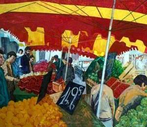 Fécamp Market, France
