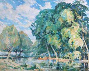 River Scene*