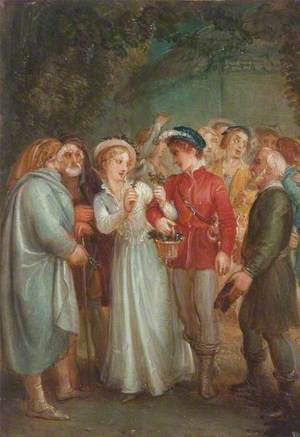 A Scene from William Shakespeare's 'A Winter's Tale'