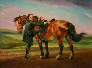 John Wesley (1703–1791), Mounting His Horse