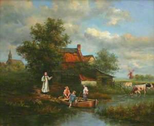 John Wesley at Wroot, Lincolnshire