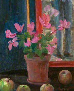 Cyclamen with Apples