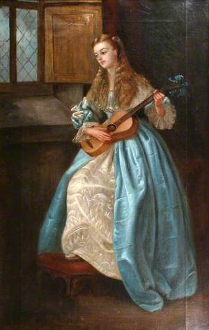 A Lady with a Guitar