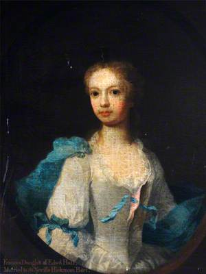 Frances Hickman, Daughter of Edward Hall, Wife of Sir Neville Hickman, Bt