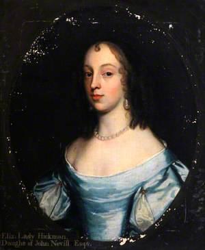 Elizabeth Hickman (1635–1691), Lady Hickman, Daughter of John Nevill, Esq.