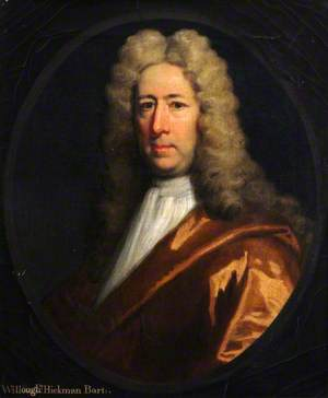 Willoughby Hickman (1659–1720), Bt