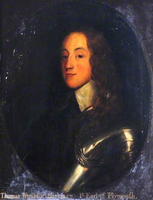 Thomas Windsor Hickman (c.1627–1687), 1st Earl of Plymouth
