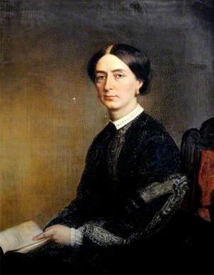 Elizabeth Beckett (1829–1885), Daughter of Sir Thomas Beckett, Wife of Sir Hickman Bacon, Bt