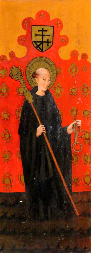 Saint Leonard with Crozier and Manacles