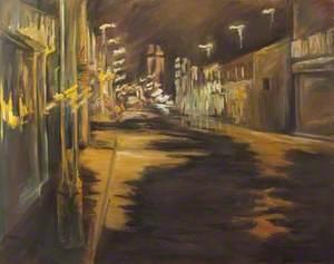 Street Scene at Night
