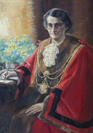 Margaret Larmour, Mayor of Grimsby (1949)