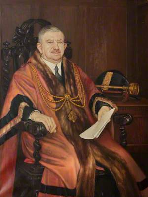 Alderman C. W. Hewson, JP, Mayor of Grimsby (1944–1945)