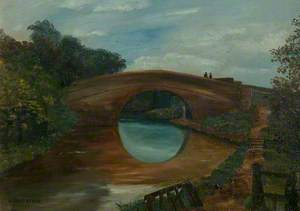 Canal Bridge at Aylestone, Leicestershire