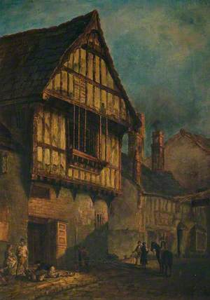 'Old Blue Boar' Inn, Leicester