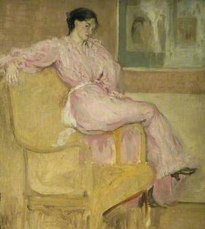 Mrs Conder in Pink