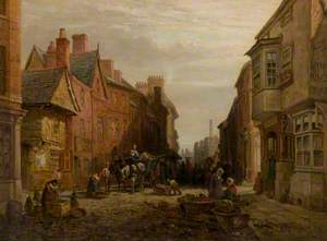 High Cross Street and 'The Nag's Head', Leicester