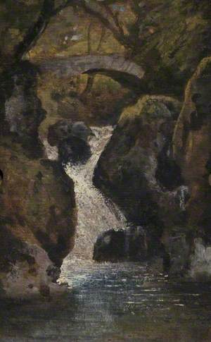 Landscape with a Waterfall