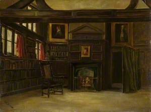 South End of the Library in the Guildhall, Leicester