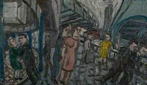 Outside Kilburn Underground, Summer 1976