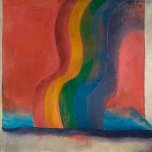 Rainbow Painting 4, Easter Series