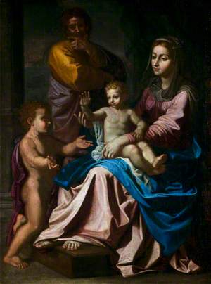 The Holy Family with the Infant Saint John