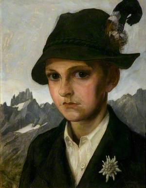 Portrait of the Artist's Son, Siegfried, Aged 12