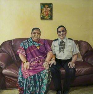 Muktaben Bhogaita and Daughter Alka