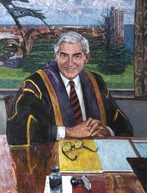 Professor J. G. Phillips (1933–1987), Vice-Chancellor of Loughborough University (1986–1987)