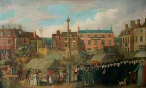 Mid Lent Fair, Grantham Market Place, Lincolnshire