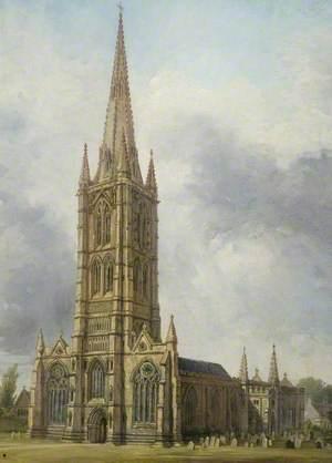 St Wulfram's Church, Grantham, Lincolnshire