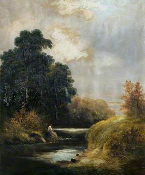 Landscape with a River and Trees